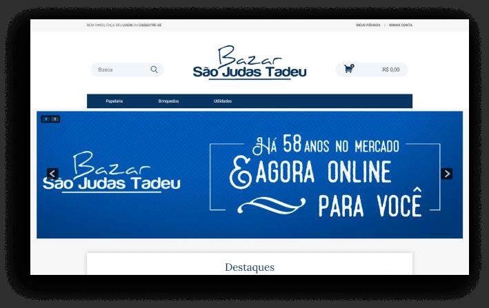 Loja Virtual - São Judas Tadeu
