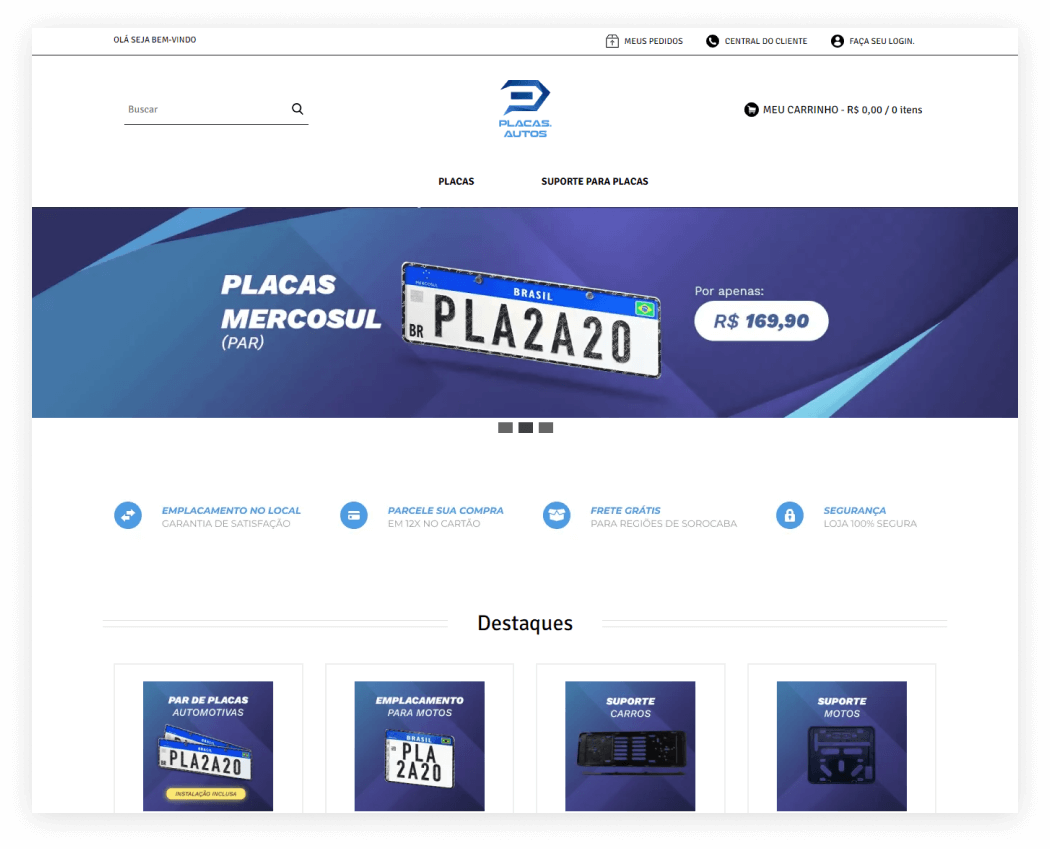 Tray - Placas.Autos