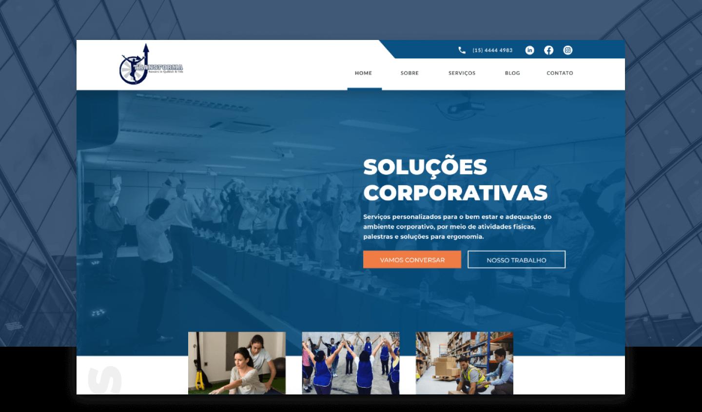 Site Institucional - Transforma Corporate