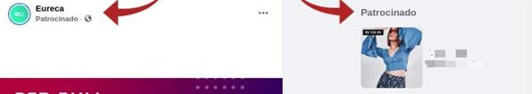 Google Ads ou Facebook Ads: Patrocinado