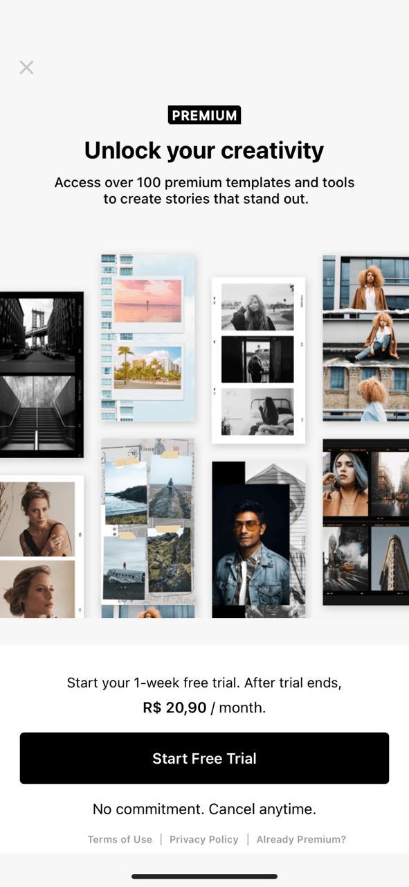 6 melhores aplicativos para criar e editar Stories no Instagram: Unlock