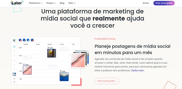 Later: Plataforma de marketing