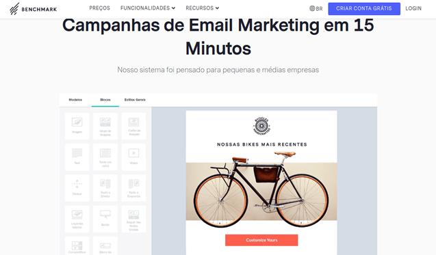Ferramentas de E-mail Marketing: Benchmark